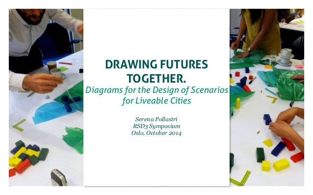 Drawing Futures  Together.  Diagrams for the Design of Scenarios  for Liveable Cities  Serena Pollastri  RSD3 Symposium  O...