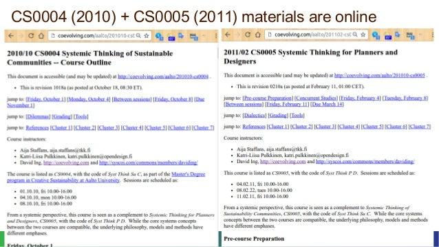October 2016Curriculum Making for Trito Learning 5© 2016 David Ing + Susu Nousala CS0004 (2010) + CS0005 (2011) materials ...