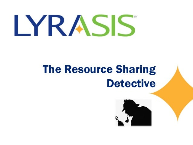 The Resource Sharing Detective