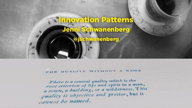 Hamburg, 21.2.2016 raumschiffer.de @raumschifferde facebook.com/raumschifferde Innovation Patterns Jenni Schwanenberg @jsc...