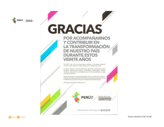 Frase De Aniversario Laboral: Aviso Institucional: Aniversario Perú 2021