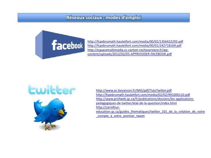 r u00e9seaux sociaux et usages p u00e9dagogiques