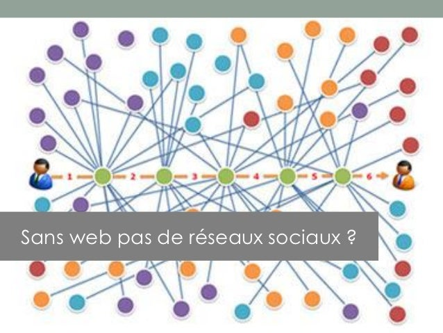Sans web pas de réseaux sociaux ?
