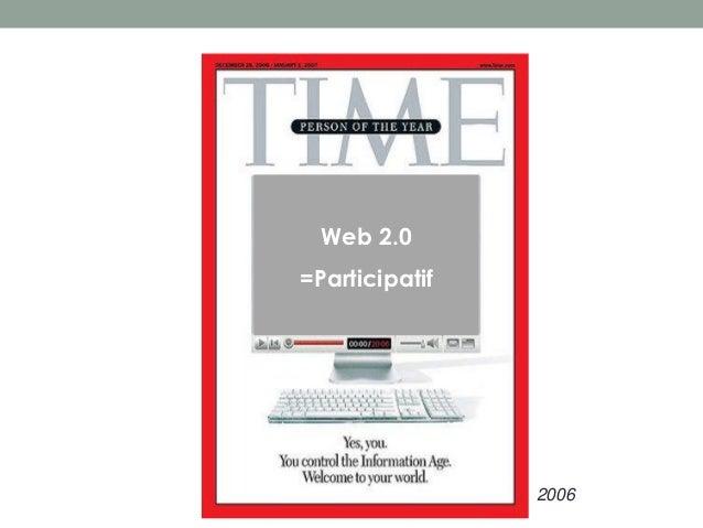 Web 2.0=Participatif                2006