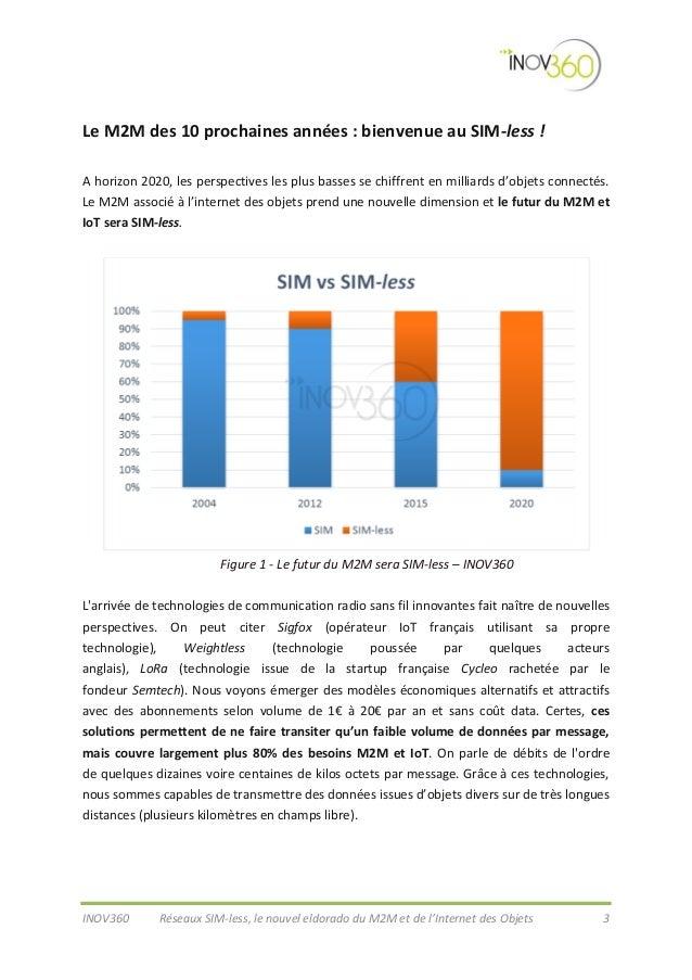 Réseaux SIM-less : le nouvel eldorado du M2M et Internet des objets Slide 3