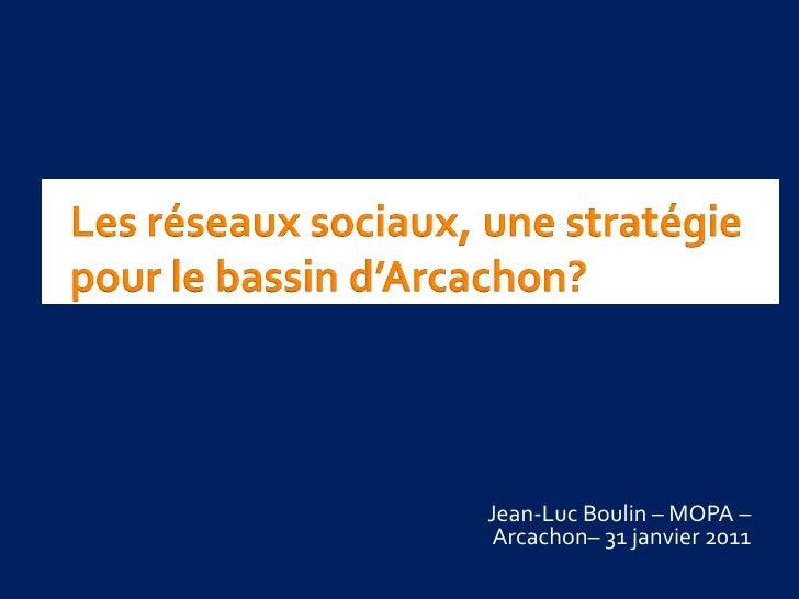 Jean-Luc Boulin – MOPA – Arcachon– 31 janvier 2011