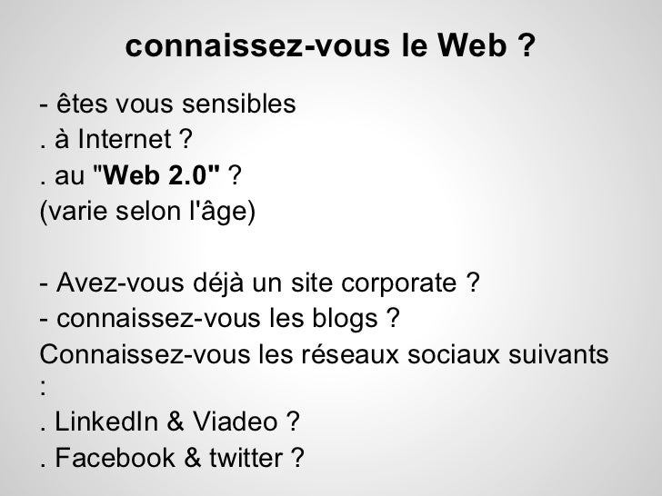 Bien utiliser les réseaux sociaux pour les entreprises (PME) Slide 3