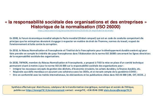 Rse iso26000 responsabilite_societale Slide 2