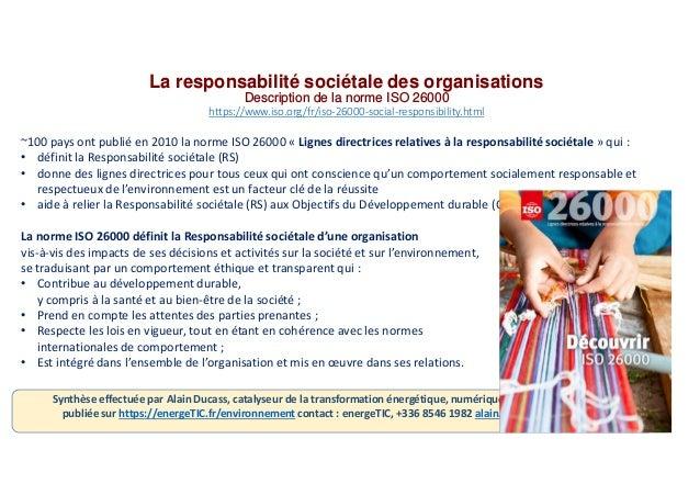 Rse iso26000 responsabilite_societale Slide 3