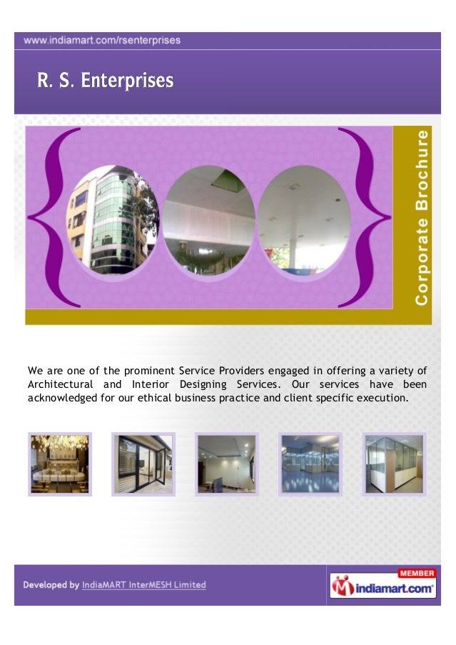 We are one of the prominent Service Providers engaged in offering a variety ofArchitectural and Interior Designing Service...