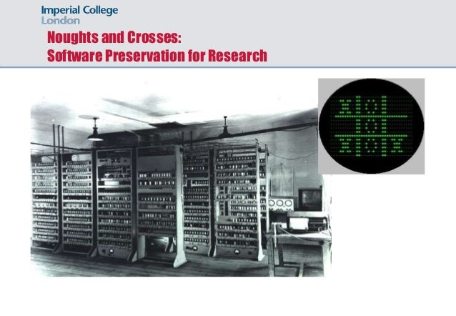 Noughts and Crosses: Software Preservation for Research