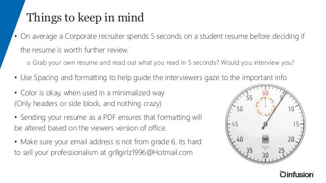 Awesome SlideShare Within Resume Tips And Tricks