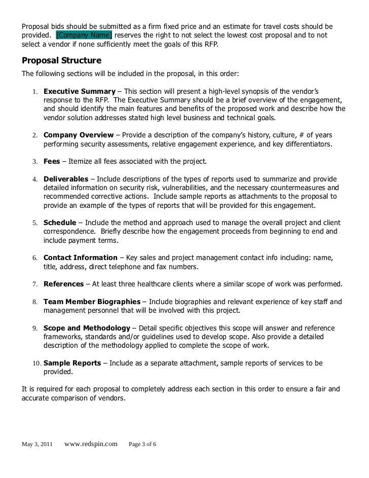 redspin hipaa security risk analysis rfp template