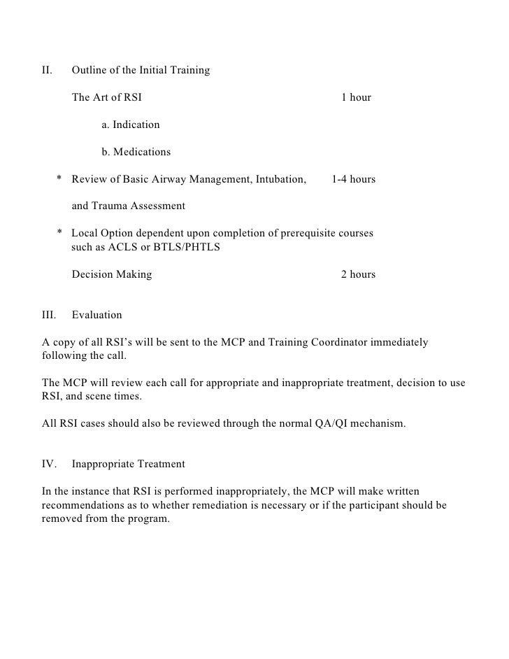 Rapid Sequence Intubation (RSI) Slide 3