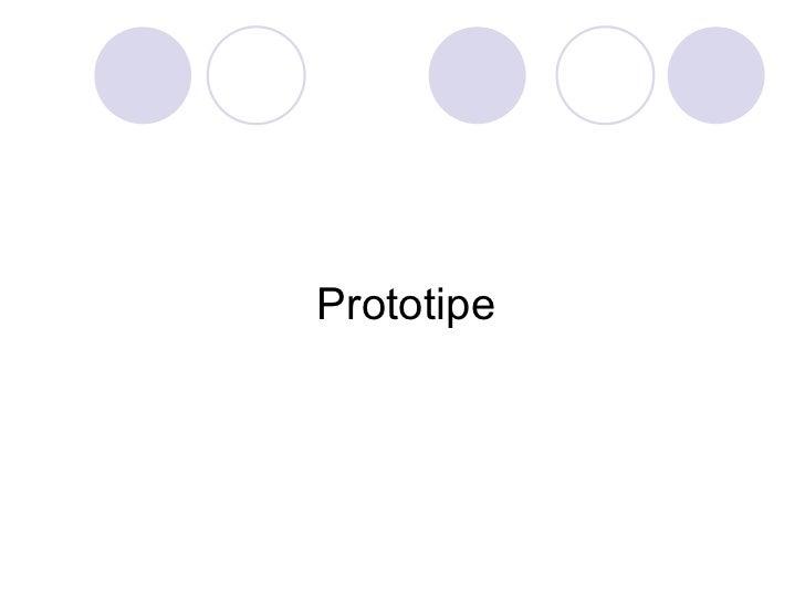 Prototipe