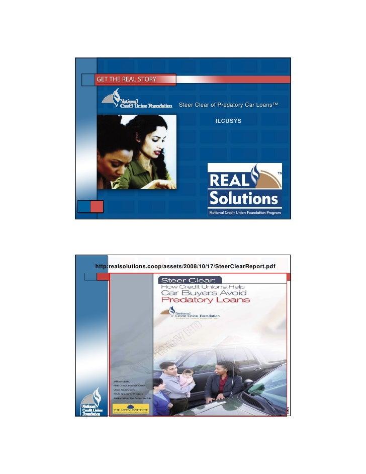 Steer Clear of Predatory Car Loans™                                                          Loans™                       ...