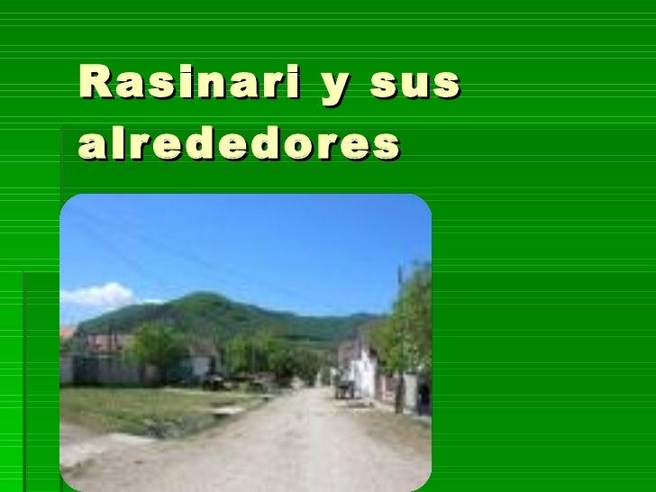 Rasinari y sus alrededores