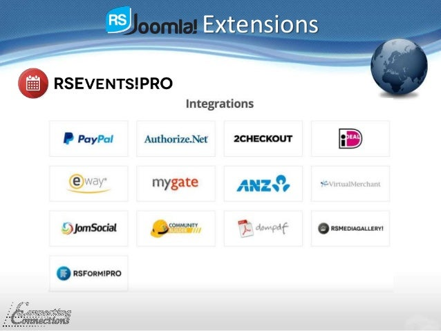 Extensions Integrations: