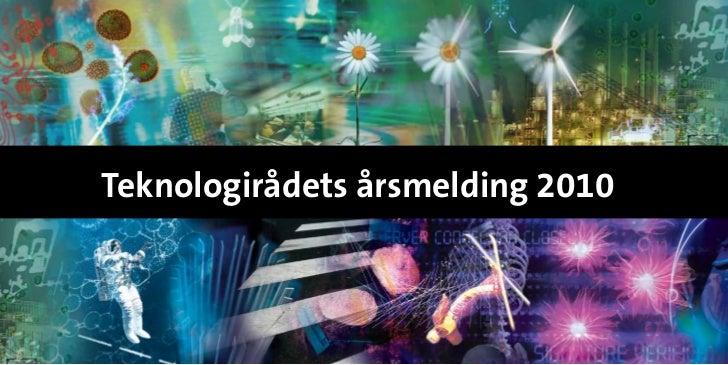 Teknologirådets årsmelding 2010