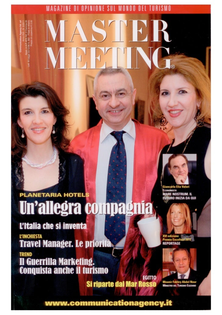 MASTER MEETING - Marzo 2011- Hassler Roma