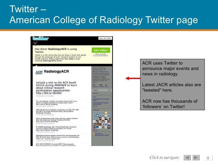 Social Media for Radiologists - How to become more
