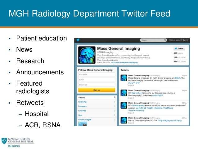 Social Media for Radiology Practice Management - Garry Choy