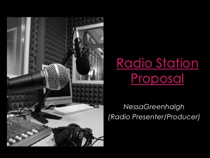 Radio Station Proposal
