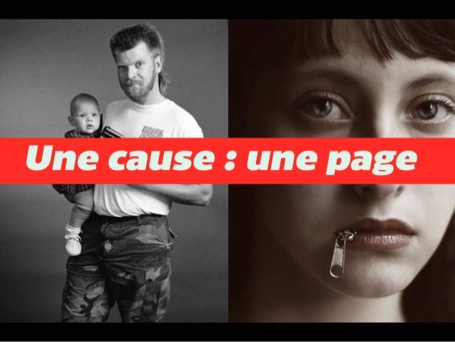 Une page pour une cause