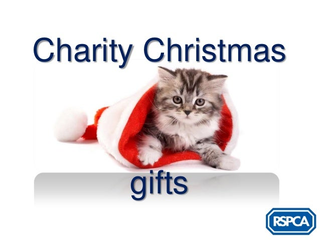 RSPCA - Charity Christmas Gifts