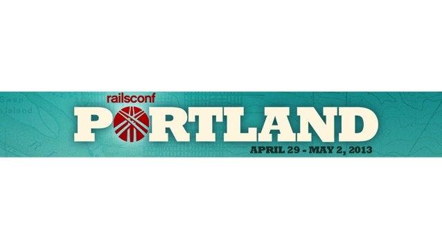 Rspec and Capybara Intro Tutorial at RailsConf 2013 Slide 2