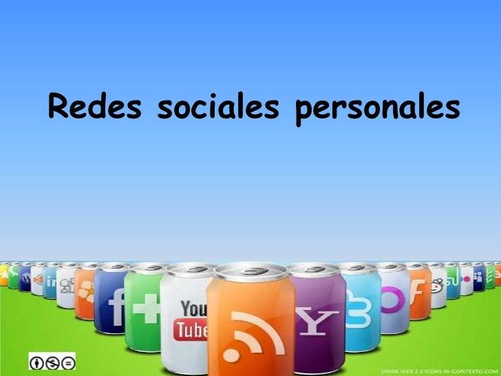 Redes sociales personales