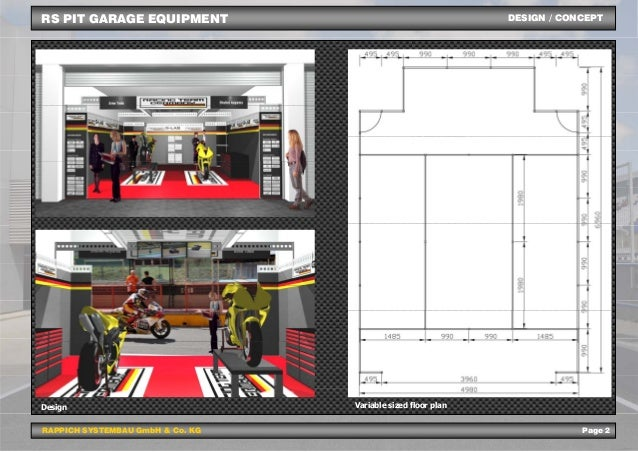 System To Success Rs Pit Garage Equipment Engl