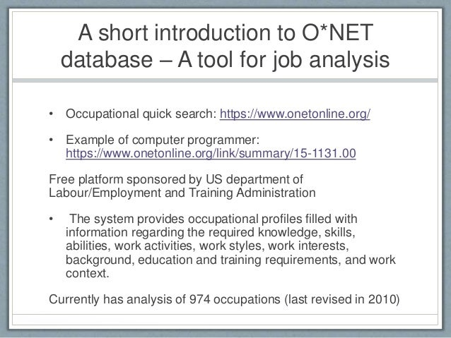 a report about the recruitment and selection for a particular job role essay Both job description and job specification are essential parts of job analysis  information  reporting to and of employees, job summary, nature and objectives  of a job,  it helps in attracting, targeting, recruiting and selecting the right  candidate for  job specification is a written statement of educational  qualifications, specific.
