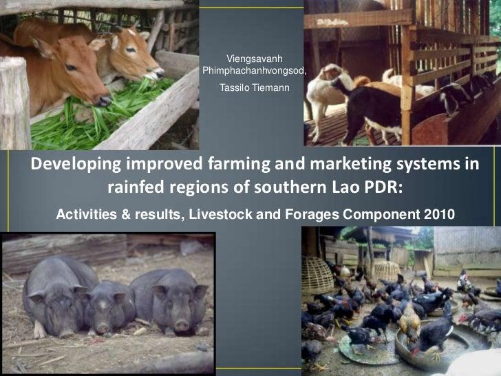 Viengsavanh                       Phimphachanhvongsod,                          Tassilo TiemannDeveloping improved farming...
