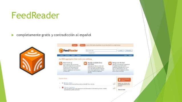 FeedReader  completamente gratis y contradicción al español