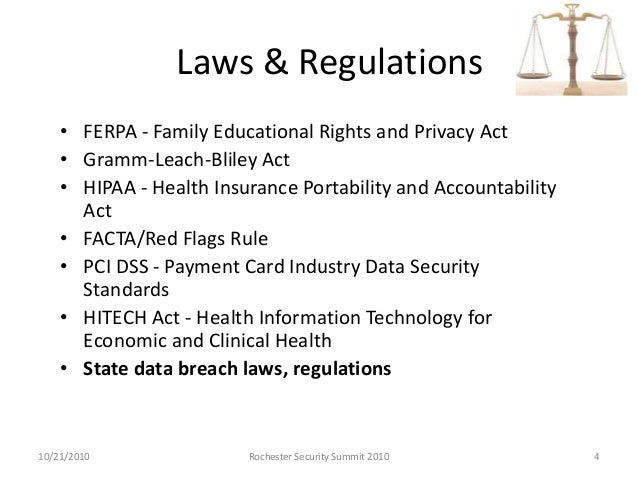 State Data Breach Laws - A National Patchwork Quilt