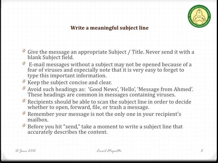 Essay email etiquette