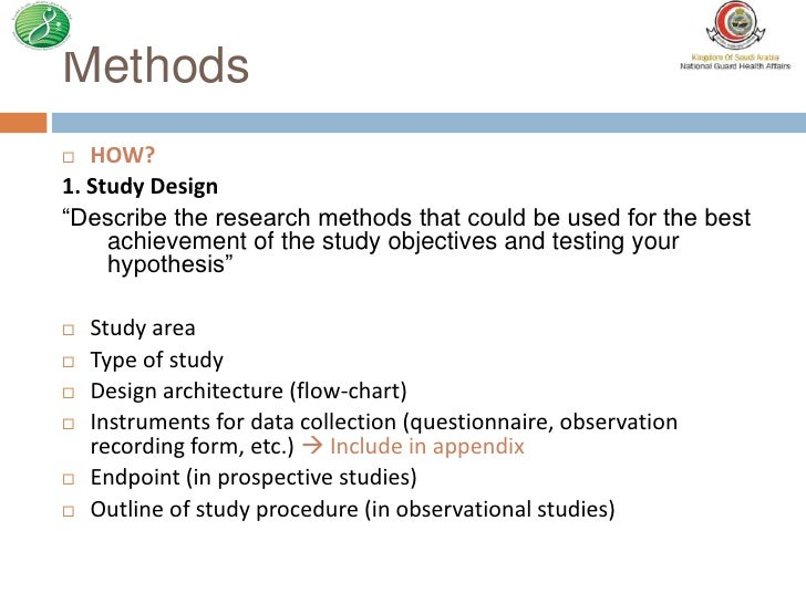 Rss 2012 How To Write A Research Proposal For Observational Studies
