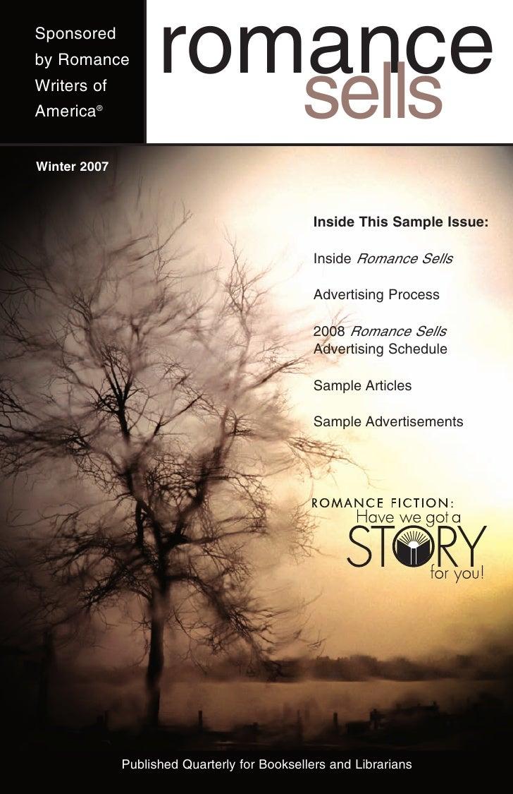 Sponsored by Romance          romance Writers of America®                                     sells Winter 2007           ...