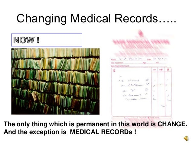 term papers electronic medical records Medical legal aspects of medical records discuss the legal process that is involved in keeping medical records it highlights the challenges that have been.