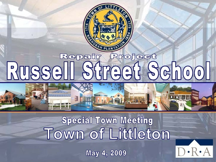 Overview                       russell street school project       Presentation Sequence       Project Objectives       ...