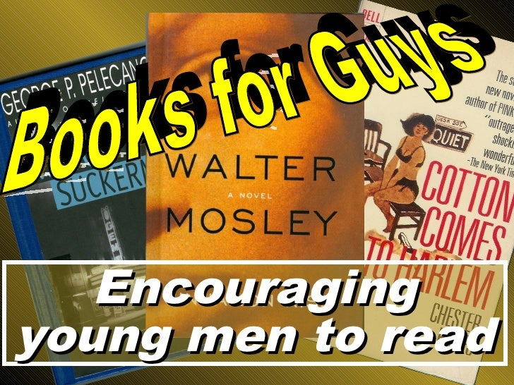 Encouraging young men to read