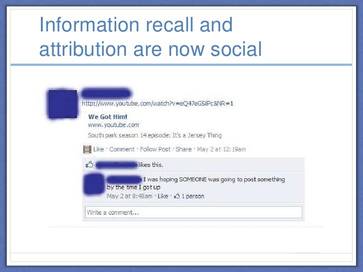 Information Literacy and Social Media: How Facebook is Changing Stude…