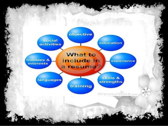 what is resume  purpose and objective of resume and type