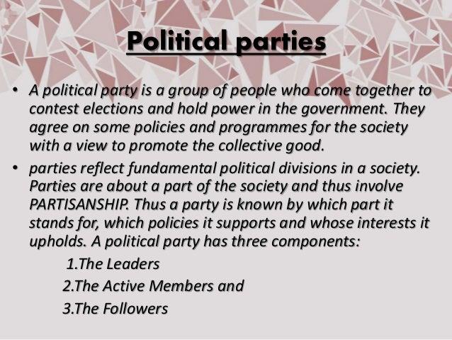 Political Parties class 10 civics PPT Slide 2