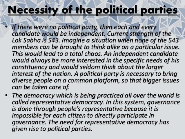 Political Parties class 10 civics PPT Slide 3