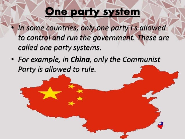chinas one party system analysis Kuhn is not the only advocate of chinese-style one-party rule among those  joining him are new york times journalist thomas friedman and.