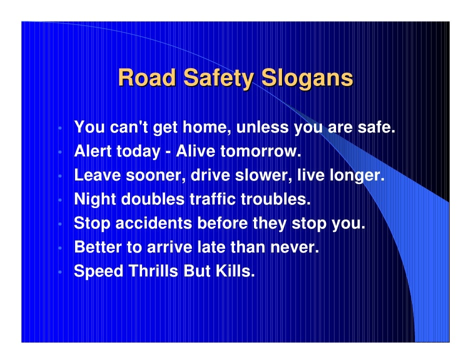 Road Safety Project PowerPoint Presentation, Road safety ppt pps pdf …