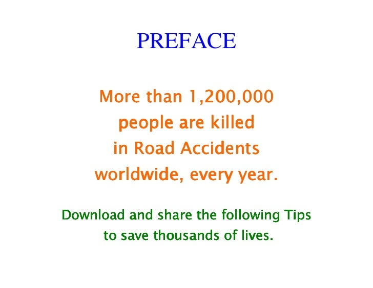 Road accidents solution essay