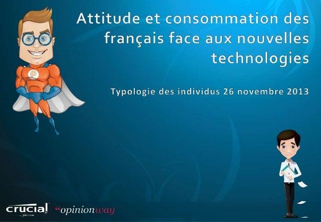       Crucial.fr a souhaité mettre en place une étude quantitative visant à identifier les grandes tendances de consomm...